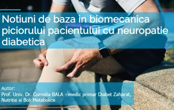 Biomecanica piciorului in neuropatia diabetica