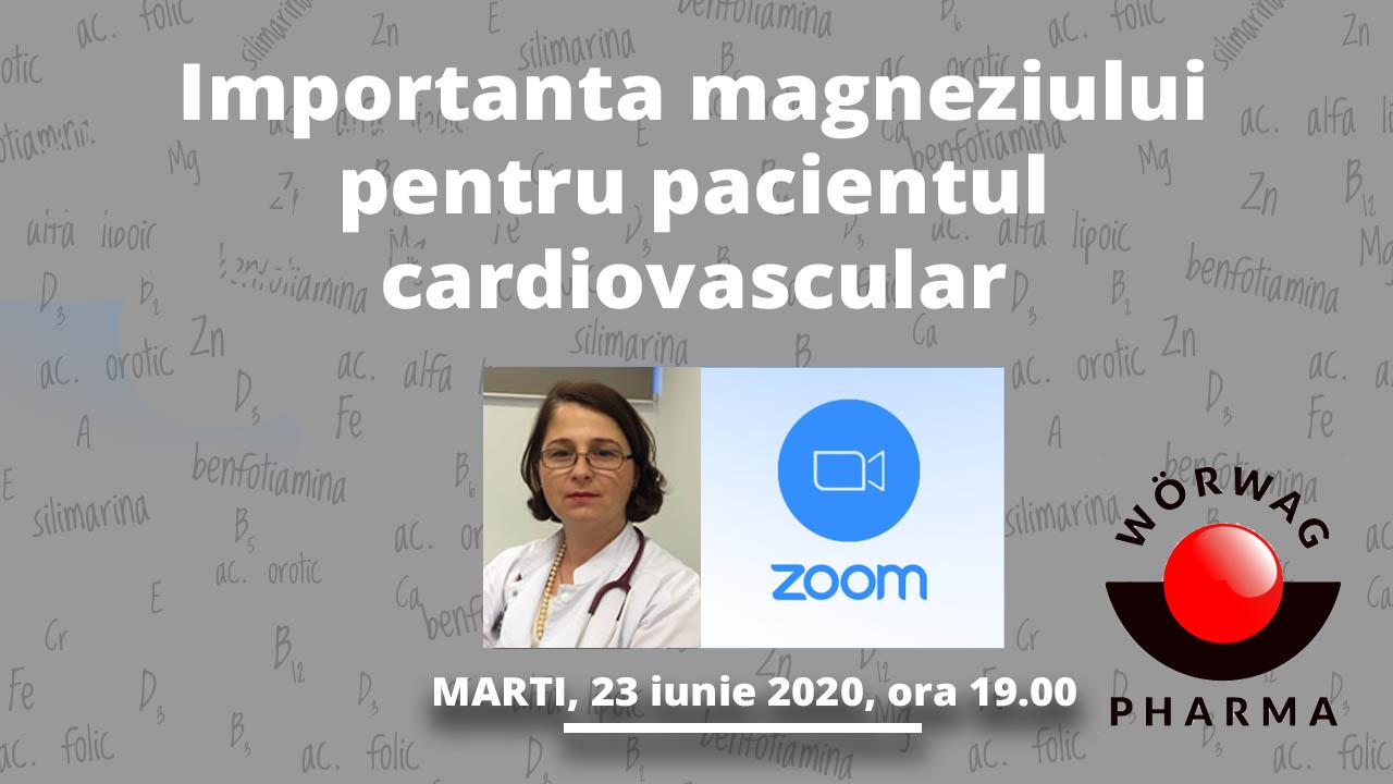 Importanta magneziului pentru pacientul cardiovascular