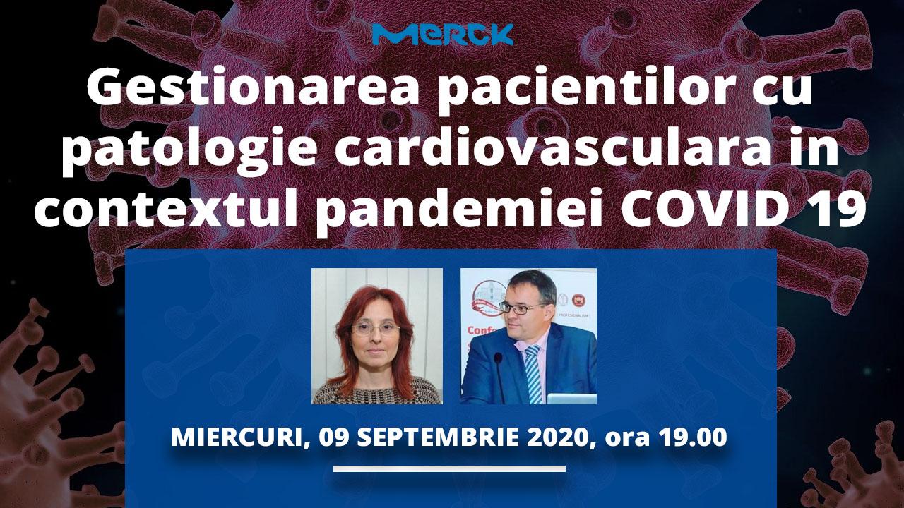 Gestionarea pacientilor cu patologie cardiovasculara in contextul pandemiei COVID 19